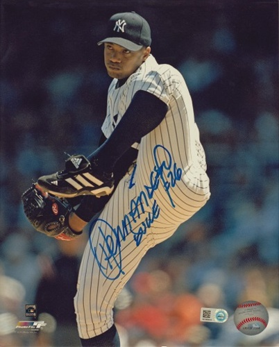 "Photo of Orlando ""El Duque"" Hernandez Autographed 8x10"