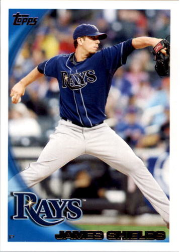 Photo of 2010 Topps #195 James Shields