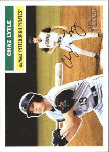 Photo of 2005 Topps Heritage #403 Chaz Lytle SP RC