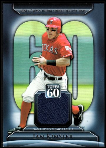 Photo of 2011 Topps 60 Relics #IK Ian Kinsler S2