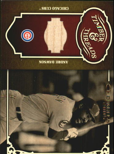 Photo of 2005 Donruss Timber and Threads Bat #3 Andre Dawson