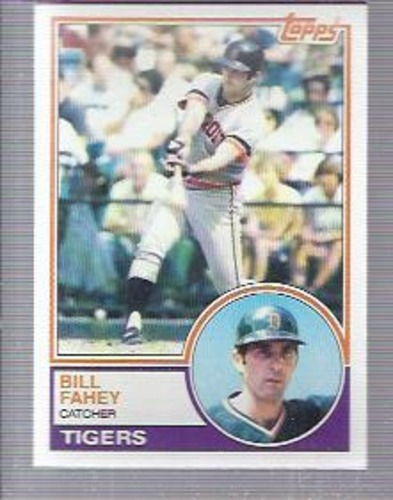 Photo of 1983 Topps #196 Bill Fahey