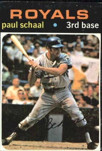 Photo of 1971 Topps #487 Paul Schaal