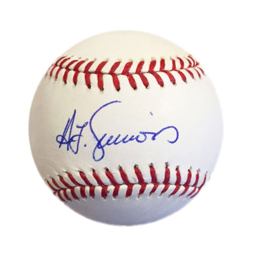 Cardinals Authentics: Ted Simmons Autographed Baseball