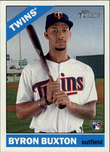 Photo of 2015 Topps Heritage #724A Byron Buxton Rookie Card