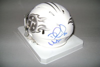 NFL - TITANS DELANIE WALKER AND JURRELL CASEY SIGNED TITANS ICE MINI HELMET