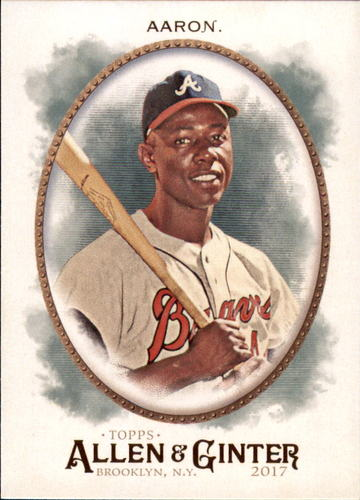 Photo of 2017 Topps Allen and Ginter #231 Hank Aaron