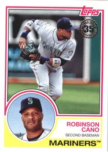 Photo of 2018 Topps '83 Topps #8364 Robinson Cano