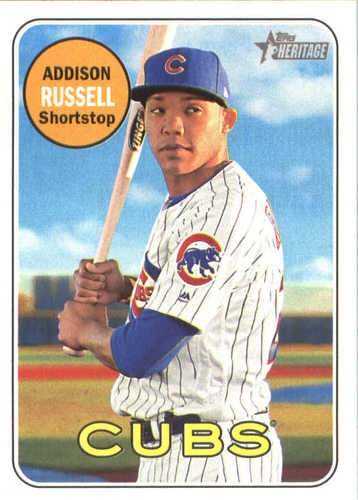 Photo of 2018 Topps Heritage #241 Addison Russell