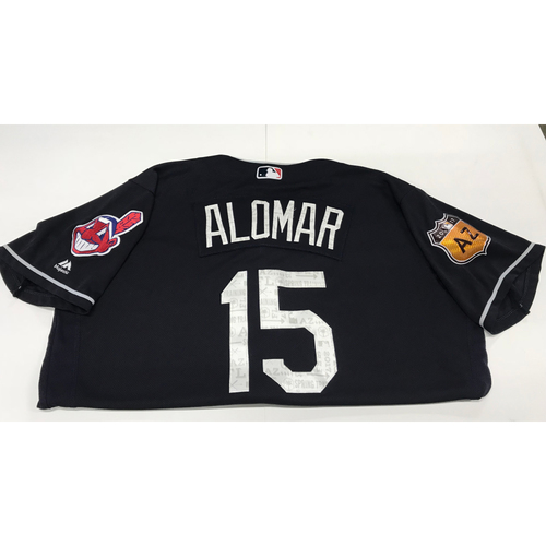 Photo of Sandy Alomar 2017 Spring Training Jersey