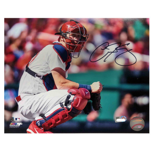 Photo of Cardinals Authentics: Carson Kelly Autographed 8 x 10 Photo