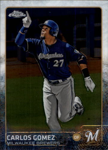 Photo of 2015 Topps Chrome #73 Carlos Gomez