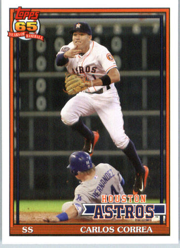Photo of 2016 Topps Archives #250 Carlos Correa