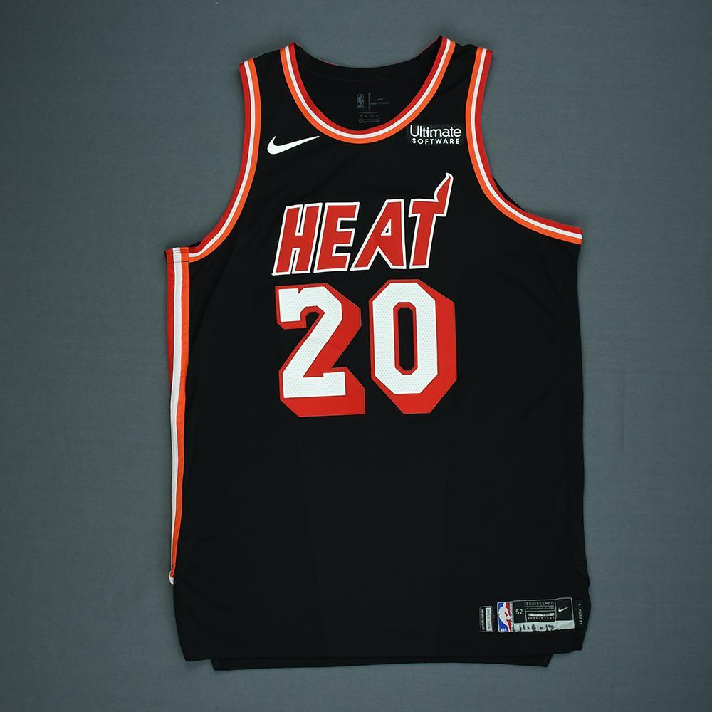 Justise Winslow - Miami Heat - Game-Worn Classic Edition 1988-99 ...