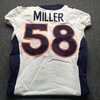 Crucial Catch - Broncos Von Miller Game Used Jersey W/ Captain's Patch (October 7th, 2018) Size 40