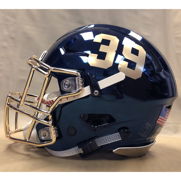 Photo of #39 Game Worn  Fear the Goat Army/Navy Game Football Helmet