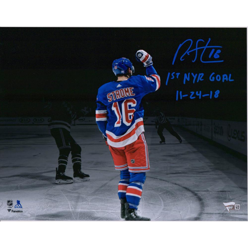 Ryan Strome New York Rangers Autographed 11