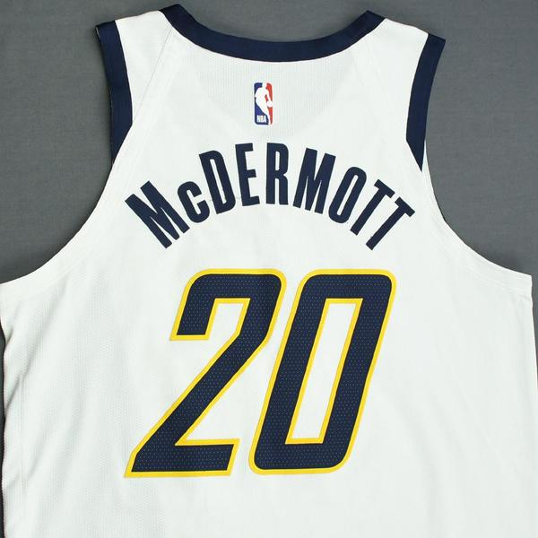 a375d79131c Doug McDermott - Indiana Pacers - Game-Worn Earned Edition Jersey - 2019  Playoffs. Current Bid   250.00