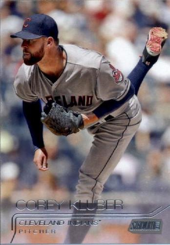 Photo of 2015 Stadium Club #267 Corey Kluber
