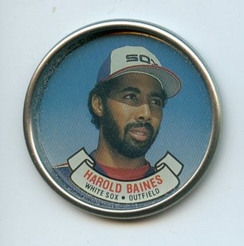 Photo of 1987 Topps Coins #1 Harold Baines