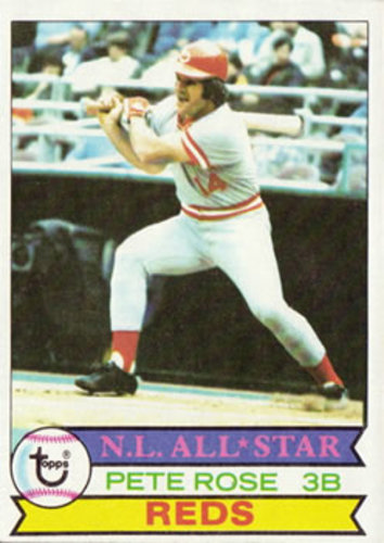 Photo of 1979 Topps #650 Pete Rose