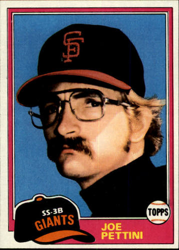 Photo of 1981 Topps #62 Joe Pettini RC