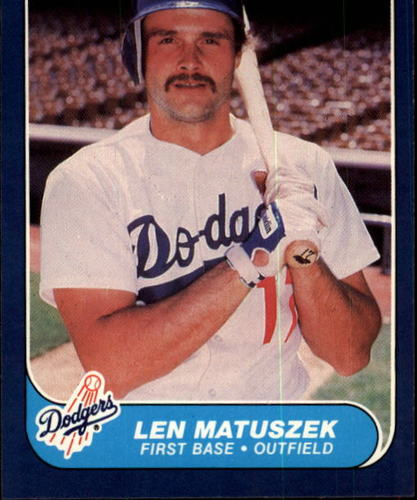 Photo of 1986 Fleer #138 Len Matuszek