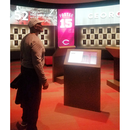 Photo of Private Tour of Great American Ball Park and Hall of Fame Tour with Hall of Famer, George Foster