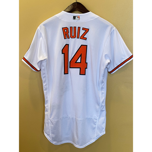 Photo of Rio Ruiz - Opening Day Home Jersey - Game-Used