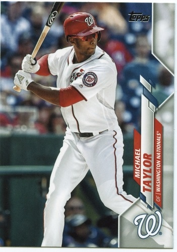 Photo of 2020 Topps #581 Michael Taylor