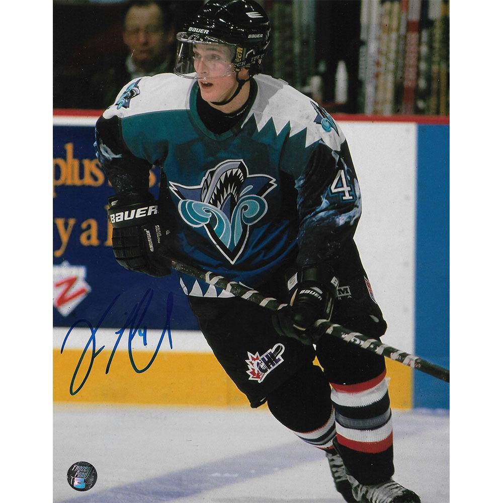 Vincent Lecavalier Autographed Rimouski Oceanic QMJHL 8X10 Photo