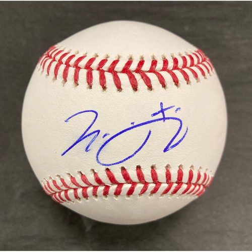 Photo of Nick Madrigal Autographed Baseball