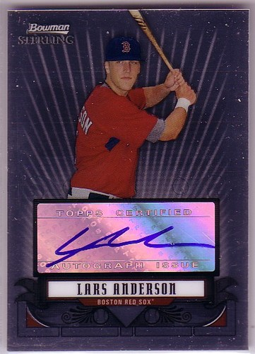 Photo of 2008 Bowman Sterling Prospects #LA Lars Anderson AU