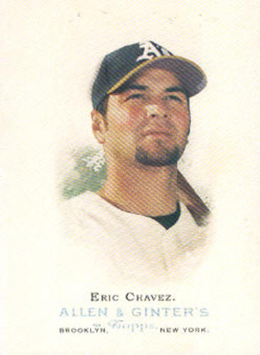 Photo of 2006 Topps Allen and Ginter #92 Eric Chavez