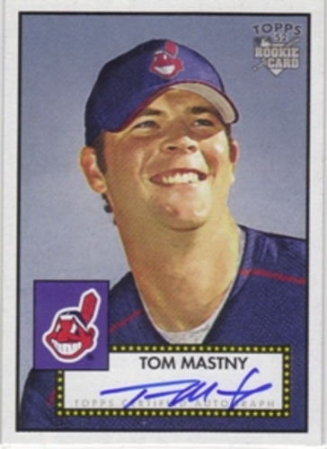 Photo of 2006 Topps 52 Signatures #TM Tom Mastny J