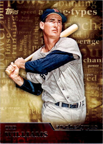 Photo of 2015 Topps Archetypes #A18 Ted Williams