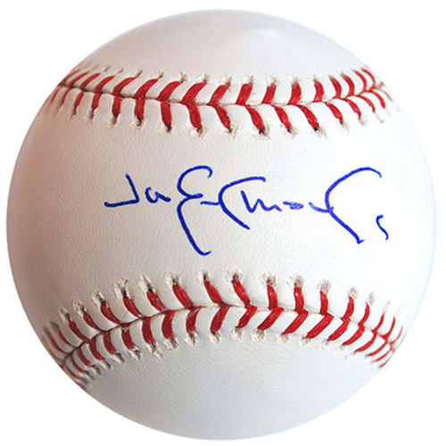 Photo of Cardinals Authentics: Jim Edmonds Autographed Baseball