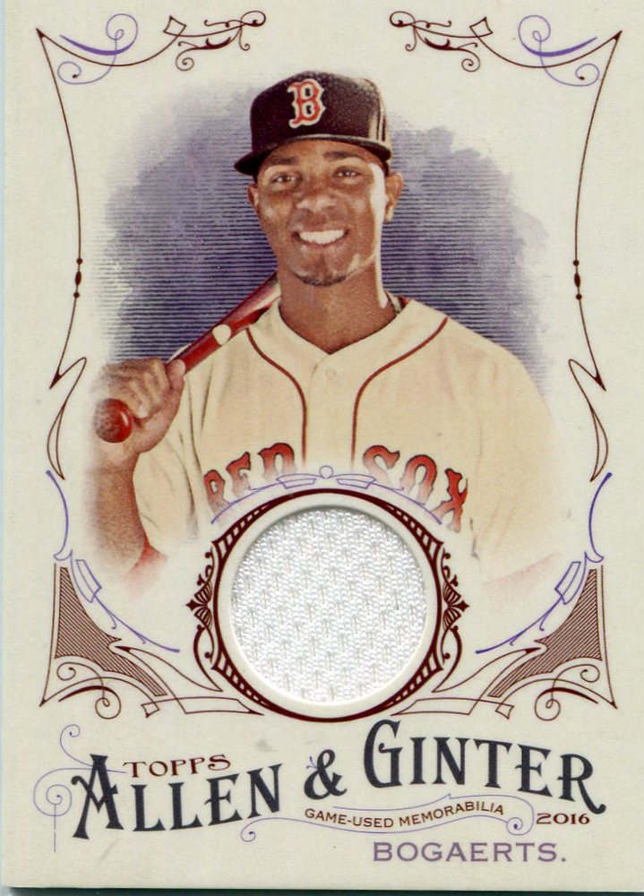 2016 Topps Allen and Ginter Relics Xander Bogaerts