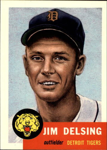 Photo of 1991 Topps Archives 1953 #239 Jim Delsing