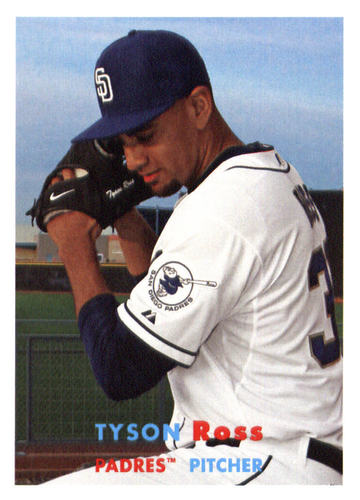 Photo of 2015 Topps Archives #46 Tyson Ross