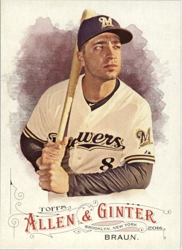 Photo of 2016 Topps Allen and Ginter #2 Ryan Braun
