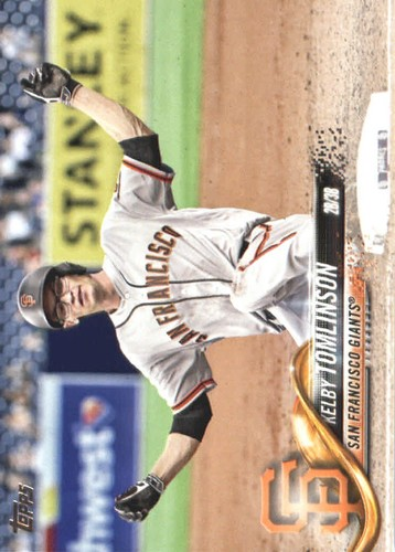 Photo of 2018 Topps #380 Kelby Tomlinson