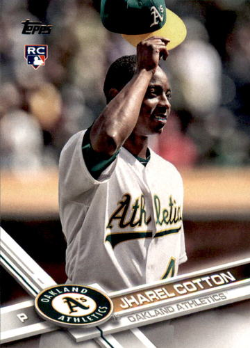 Photo of 2017 Topps #451 Jharel Cotton RC