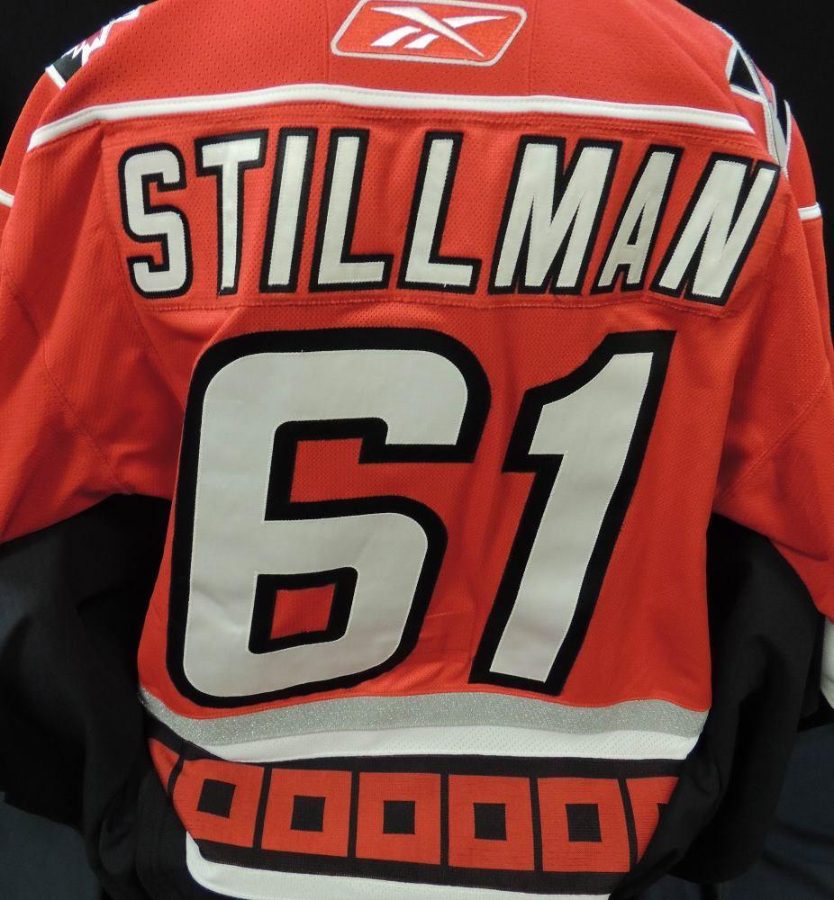 Carolina Hurricanes Authentic Game Worn Cory Stillman #61 Jersey