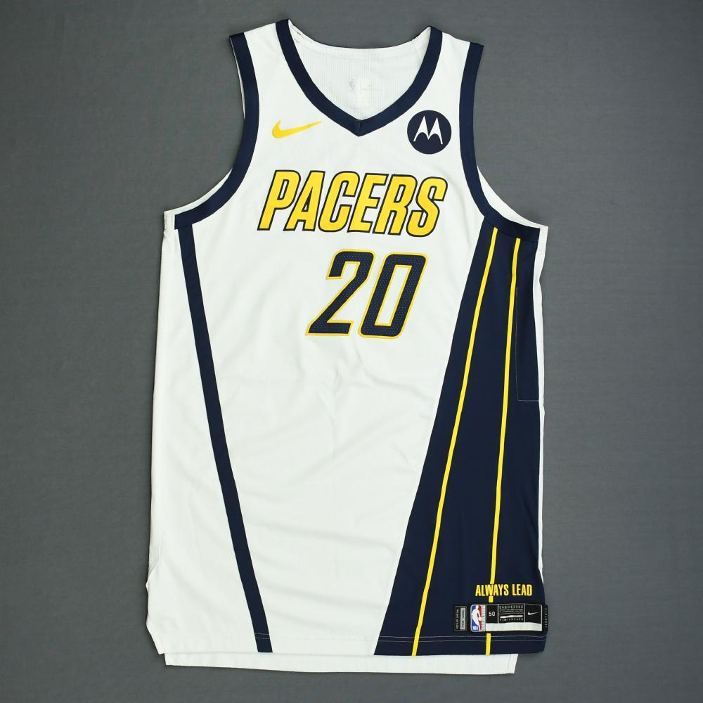 ed2e4b8f1b6 Doug McDermott - Indiana Pacers - Game-Worn Earned Edition Jersey - 2019  Playoffs