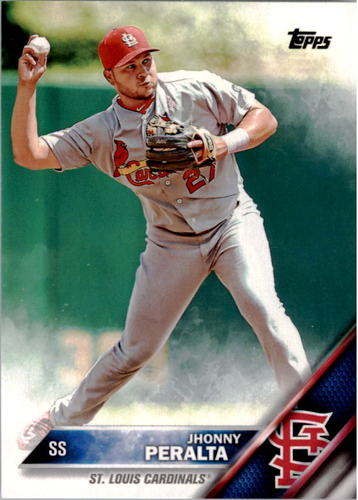 Photo of 2016 Topps #46A Jhonny Peralta