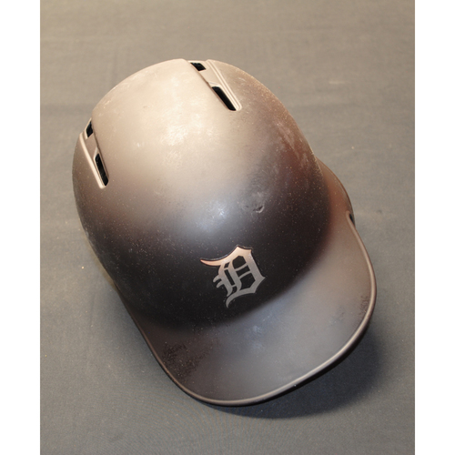 "Photo of John ""Jazz"" Hicks Detroit Tigers Game-Used 2019 Players' Weekend Helmet"