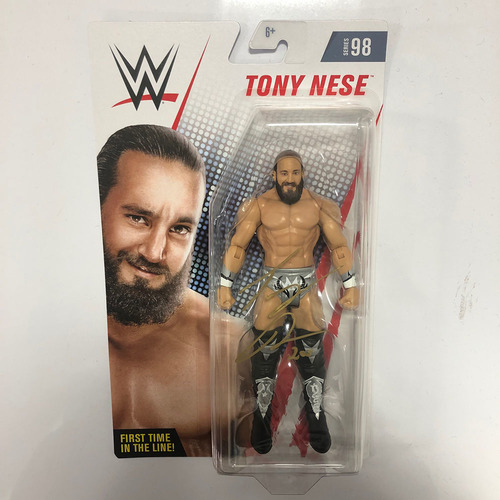Photo of Tony Nese SIGNED Series 98 Action Figure (Chase Variant)