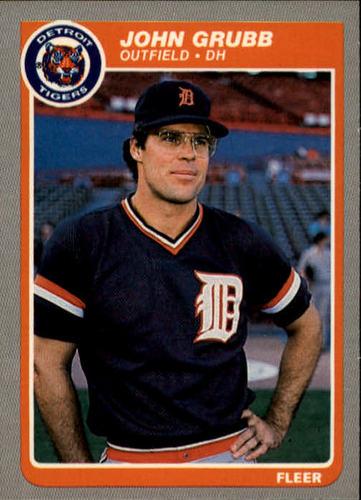 Photo of 1985 Fleer #9 John Grubb