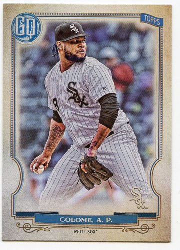 Photo of 2020 Topps Gypsy Queen #44 Alex Colome